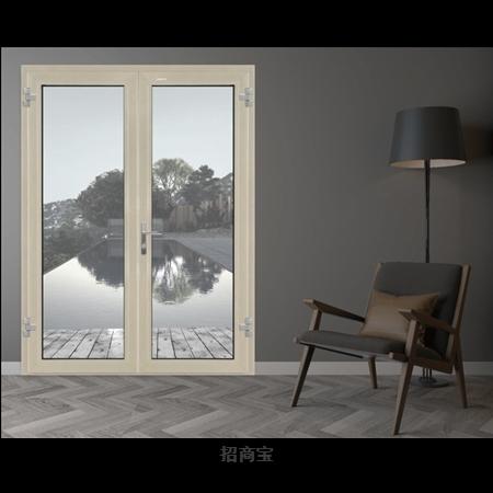 新豪轩门窗斯图加特78高性能系统门 铝合金平开门