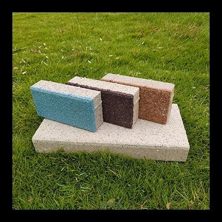 陶瓷颗粒透水砖的生产