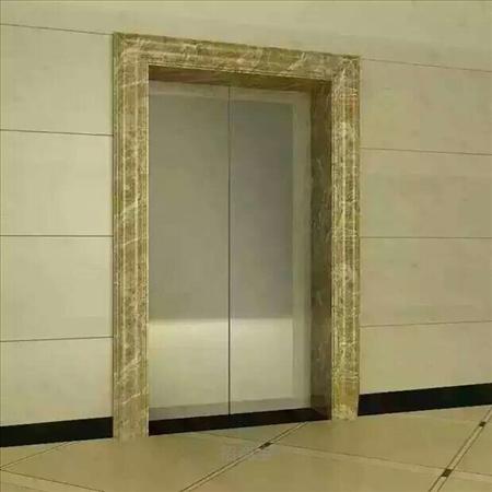 仿石材门套线 白银石塑电梯门套线施工工艺